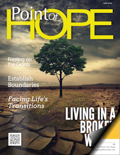 Point Of Hope Magazine Issue 30 - Enduring Hope Ministries
